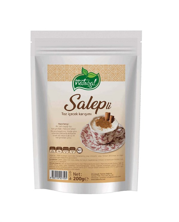 BAB-I NATURAL Salep - 200 -gr