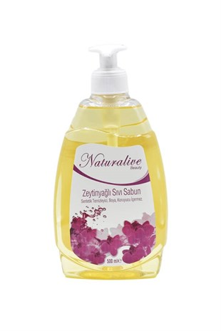 Naturalive Beauty Sıvı El Sabunu 500Ml