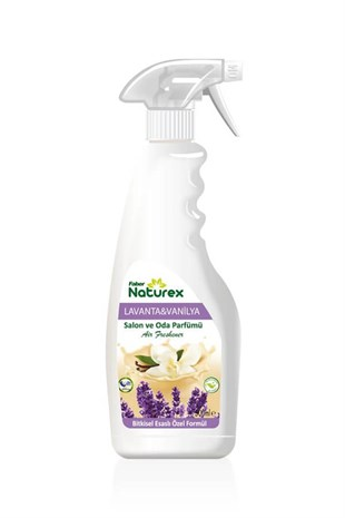 Naturex Bitkisel Salon Ve Oda Parfümü 500Ml (Lavanta/Vanilya Kokulu)