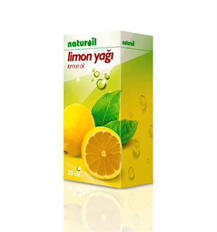 NATUROİL Limon Yağı - 20 ml
